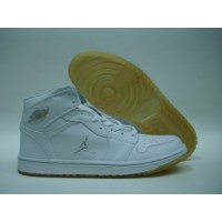 Air Jordan 1 White Yellow