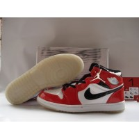 Air Jordan 1 White Black Red