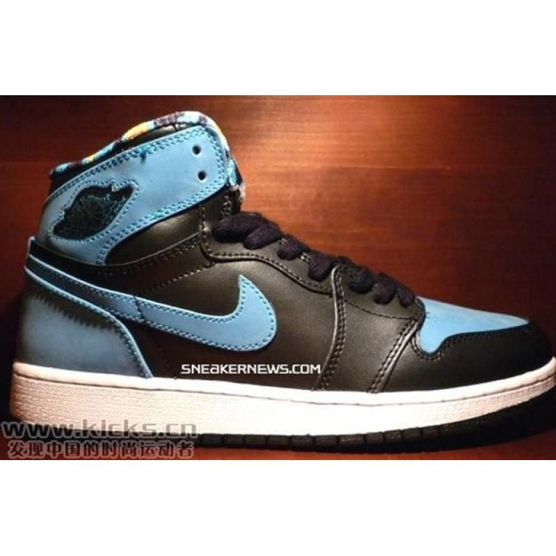 new arrival 88ead d93cf Air Jordan 1 Black Sky Blue , Price   66.99 - Jordan Shoes - Michael ...