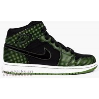 Air Jordan 1 Black Chlorophy