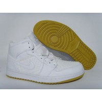 Air Jordan 1 Yellow White