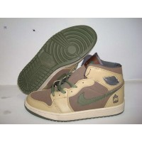Air Jordan 1 The Tribute Armed Forces MDM Brown Urban HZ Hay Ant