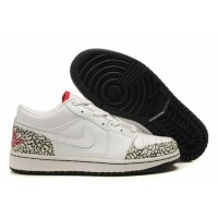 Air Jordan 1 Low Phat White Varsity Red Black Cement Grey