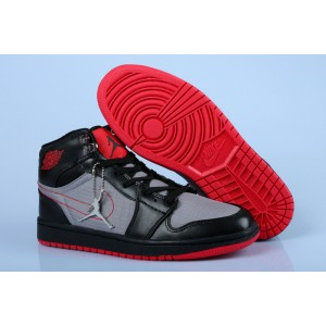 Air Jordan 1 High Black Grey Red