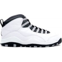 Air Jordan 10 Original White Black Light Steel Grey