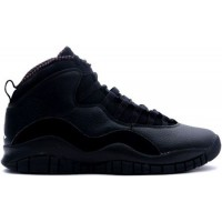 Air Jordan 10 Retro Black White
