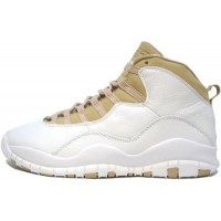 Air Jordan 10 Retro White Linen University Blue