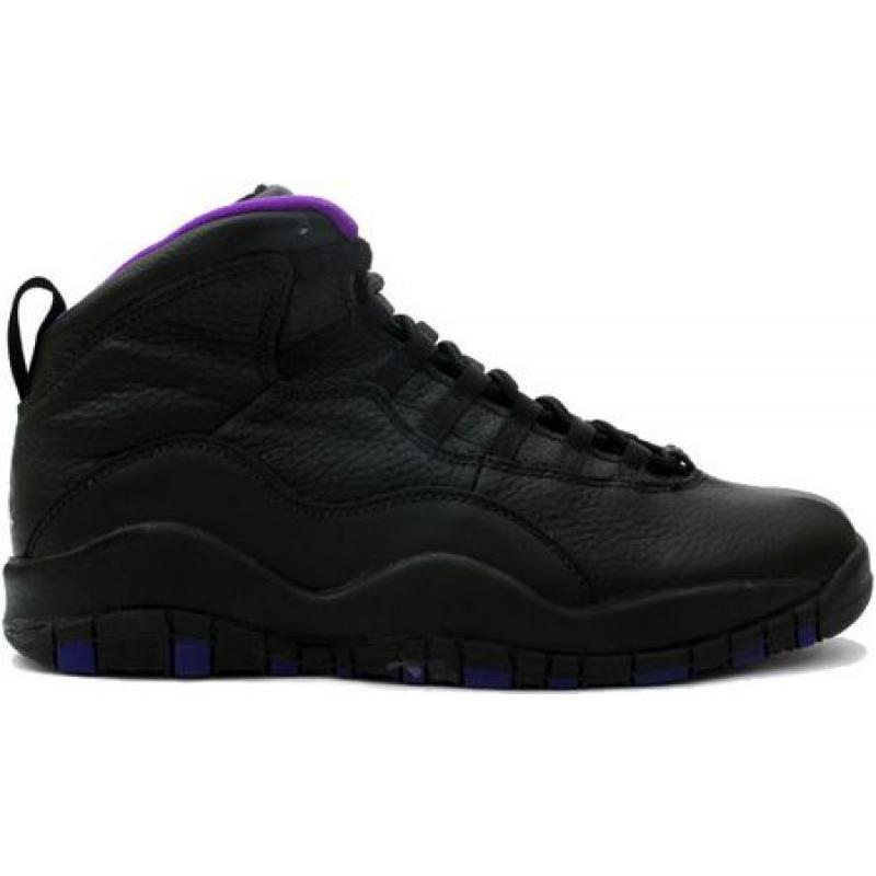 best sneakers 6ba35 86c7a Air Jordan 10 Original Sacramento Kings Black Purple