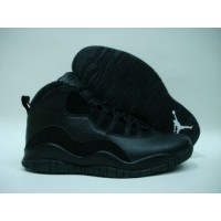 Air Jordan 10 Retro  Black