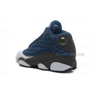 Air Jordan 13 Retro French Blue/Flint Grey-White For Sale