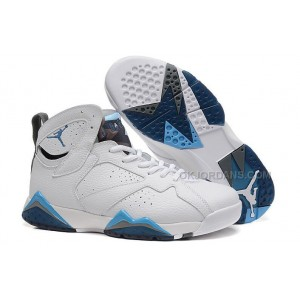 new concept c7bff f886a USD  79.00. Air Jordan 7 Retro French Blue White ...