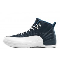 Air Jordan 12 Retro Obsidian/White-French Blue-University Blue For Sale