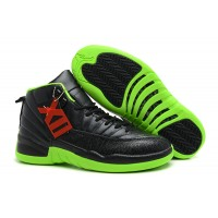 Air Jordan 12 Black Neon Green