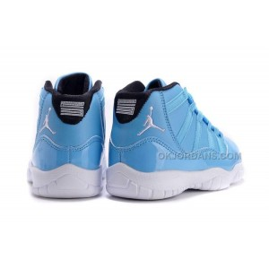Kids Jordan 11 XI University Blue/Black-White