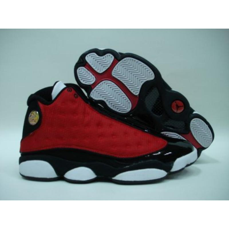 Jordan 13 Retro Red White Black  07cc2f79f821