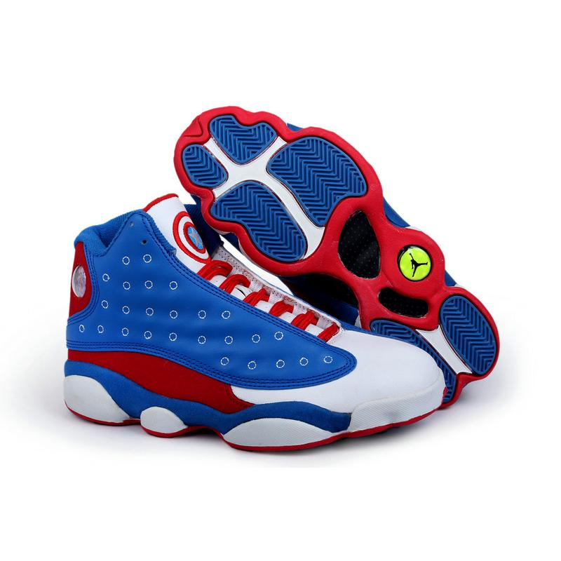Air Jordan 13 Captain America ...