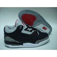 Air Jordan 3 Black Cement Grey