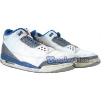 Jordan 3 White Cement Grey True Blue