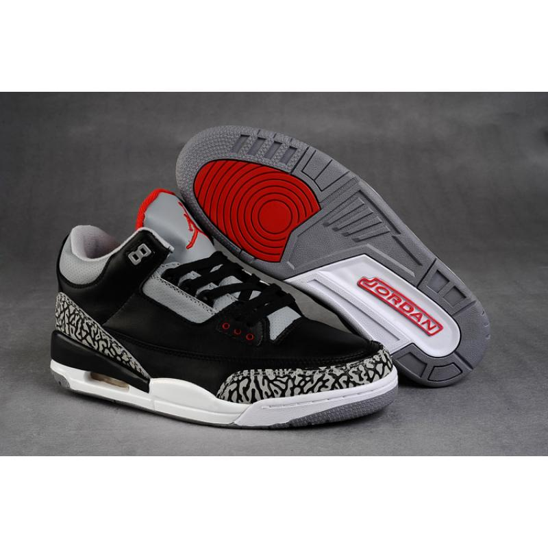 detailed pictures dc5b8 4c118 ... shopping air jordan 3 retro black cement grey 06e30 3098c