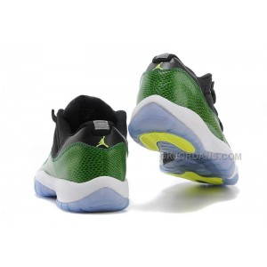 "Discount Air Jordan 11 Retro Low ""Green Snakeskin"" Sale Online"