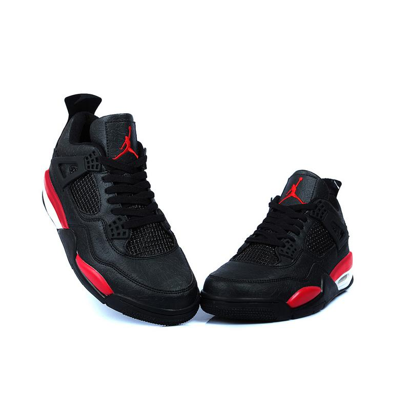 a640fb461b75 ... Air Jordan 4 Temporal Rift Black Varsity Red ...
