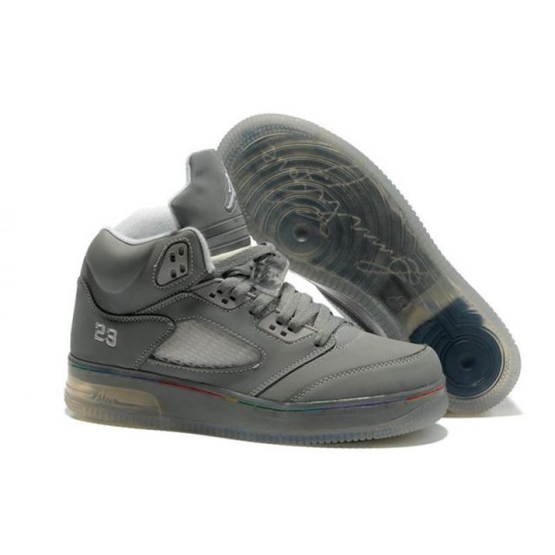 USD  75.18. Air Jordan 5 Force Light Cool Grey White ... 560776f67e