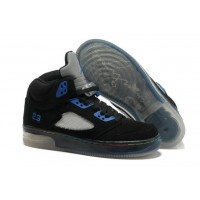 Air Jordan 5 Force Light Black Varsity Royal