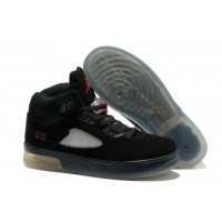 Air Jordan 5 Force Light Black Fire Red