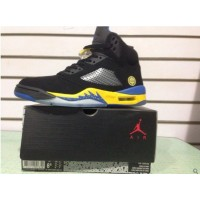 Air Jordan 5 Black Yellow