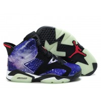 Air Jordan 6 Glow in The Dark Purple Black