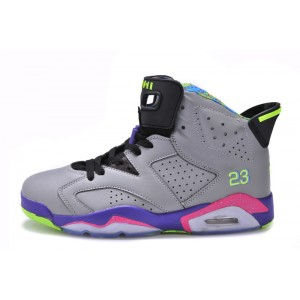 Jordan 6 Grey Black Purple
