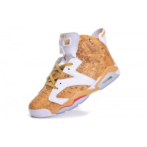 Jordan 6 Wheat Wheat Red