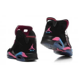 Jordan 6 Black Rainbow Shoes