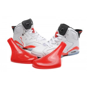 Jordan 6 Retro White Varsity Red Shoes
