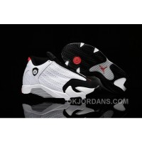 Kids Jordan|Kids Air Jordan 14 White Black Red Sale