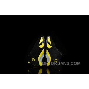 Kids Jordan|Kids Air Jordan 14 Black Yellow Sale