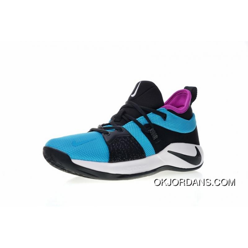 8f8b0a249249 ... wholesale nike pg 2 paul ignature blue ball shoes series blue lagoon  lake blue black purple