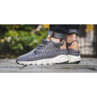 Nike Air Footscape Woven Chukka SEDark Grey/Sail-Vachetta 857874-002 Top Deals