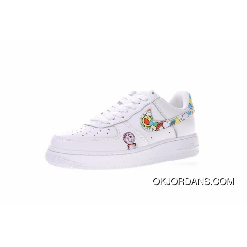 innovative design 4cba1 918cf Men Shoes Takashi Murakami Takashi Murakami Doraemon X Nike Air Force 1 Low  One Classic Sneakers Sunflower Many La A Dream 314219-031 New Style
