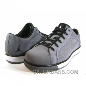 Air Jordan Sky High Retro Low Cool Grey Black White 454076-011 Free Shipping
