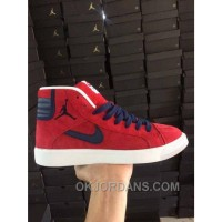 NIKE AIR JORDAN SKY HIGH OG RED WOMEN MEN PIG LEATHER Discount