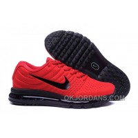 Authentic Nike Air Max 2017 Red Black Black Cheap To Buy Tx8jXZ