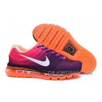 Authentic Nike Air Max 2017 Purple Pink Orange Lastest PCC4Nax