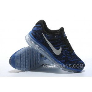 Authentic Nike Air Max 2017 Print Blue Black New Release DKfntR