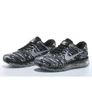 Authentic Nike Air Max 2017 Print Black White Online 2SQ3P