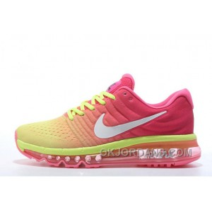 Authentic Nike Air Max 2017 Pink Volt White Free Shipping Qbc7YmE
