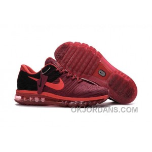 Authentic Nike Air Max 2017 KPU Wine Red Black Cheap To Buy Araennk