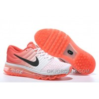 Nike Air Max 2017 White Orange Black Authentic EK5JrF