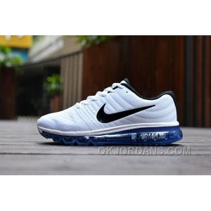 Authentic Nike Air Max 2017 White Black Top Deals JHnFM