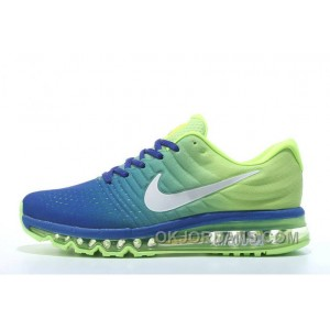 Authentic Nike Air Max 2017 Rolay Blue Volt Silver Online PiGSf
